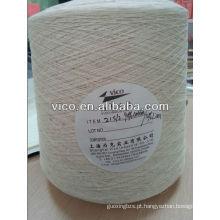 Fio de linho ou fio de algodão / linho misturado