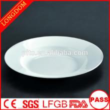 P & T cerâmica fábrica dinnerware durável, restaurante hotéis placas profundas