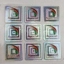 Custom Print 3D Tamper Proof Laser Hologram Sticker