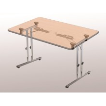 office desk foldable steel chrome table frame