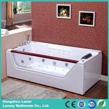 Гидромассажная стеклянная ванна с воздушными струями (TLP-675)