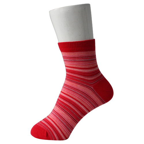 Red Lady Cotton Socks