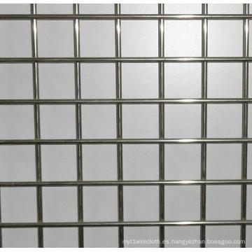 Malla de alambre soldada de acero inoxidable de 304 o 316