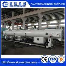 PVC-UPVC-Rohr-Produktionslinie PVC-Wasserrohr-Extrusionsmaschinenlinie