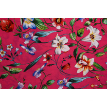 High Quality Rose Flower Pattern Printed Fabrics