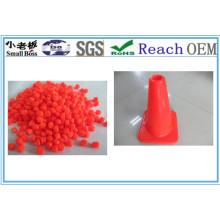 Matériel de cône de circulation en PVC souple
