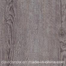 Hölzerner Muster PVC-Vinylbodenbelag für Wohnzimmer