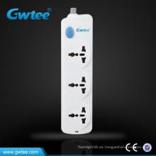 Enchufe múltiple de alta potencia interruptor eléctrico y tomacorriente