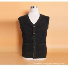 Yak Jwool / Cachemire V Neck Cardigan Pull à manches longues. / Vêtements / Tricots / Vêtements