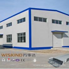 Edificio de estructura de acero prefabricado (wz-456)