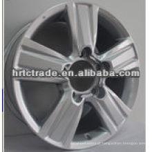 Belo cromo preto desporto suv rodas de carro rodas de alumínio