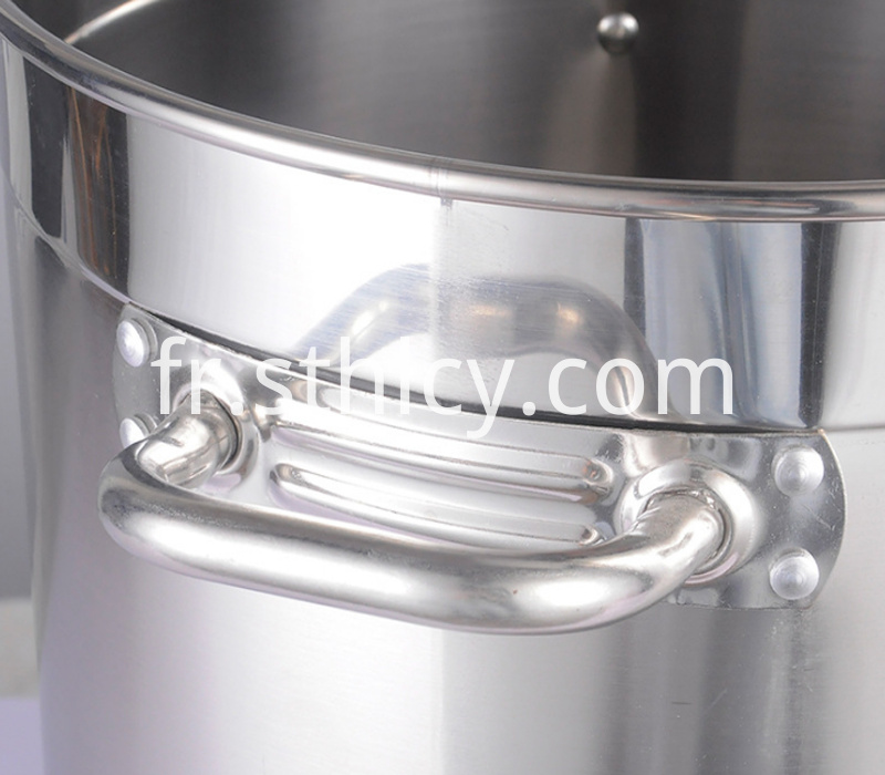 304 Round Ear Stainless Steel Soup Bucket