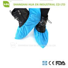 Einweg-Weiß Blau Grün Pe Cpe Pp Sms Mikroporöse Schuhabdeckung