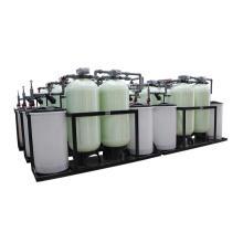 Cambiador de ion de suavizador de agua de válvula de control automático