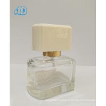 Ad-P196 Spray botella de perfume de vidrio transparente 25ml