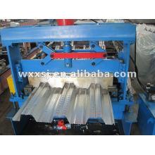 machine de plancher composite decking profilage panneau acier