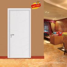 Elegant look Interior Veneer Wooden glass doors