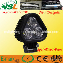 High Power 30W LED Driving Light CREE LED Work Light Lazer Star Discovery Triad Flood Nsl-3003t-30W