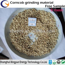 Polishing/ Mushroom cultivation/Animal feed granular powder corn cob