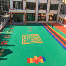 Kediaman Luaran Eco-friendly Kids Flooring