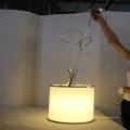 Мода Белые Круглые Металлические Многоугольные Столовая Подвеска Лампа