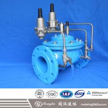 Клапан перепада давления с гидравлическим управлением, с пилотным управлением, с регулирующим клапаном