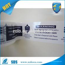 Preço baixo Embalagem Modern Bopp Colorido Segurança Void transferência adesiva Tape roll