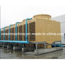 1200t FRP Tipo quadrado Torre de refrigeração de água de fluxo cruzado