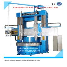 Convencional Coluna Dupla Vertical Torneira Torno preço oferecido pela fabricação de máquina Vertical Torno