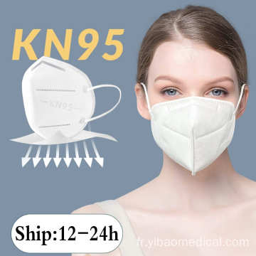 masque facial kn95 5 couches