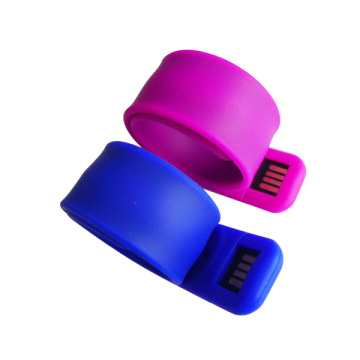 Impermeable silicona usb pulsera flash memory stick