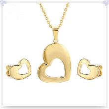 Accesorios de moda Joyería de joyería de acero inoxidable conjunto (JS0202)