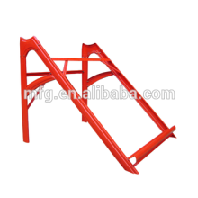 Custom sheet metal solar racking part-powder coating