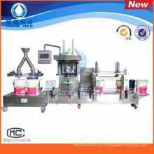 Línea automática de llenado de la máquina de llenado de líquidos