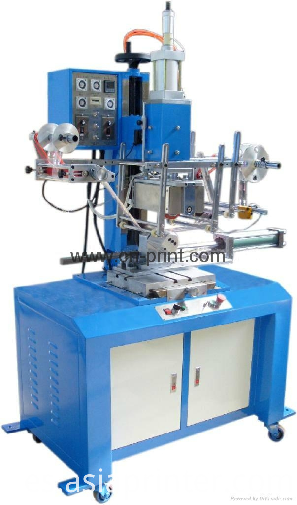 Heat film transfer printing foil print machine