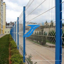 Curvy Welded Wire Mesh Fence Panel / 3D Curved Fencing