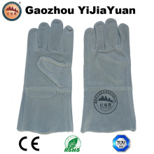Cow Split Leather Protective Welding Safety Gloves