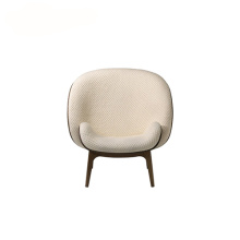 Bergere Single seat Hug Fabric Lounge Armchair
