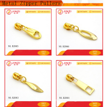 Metal zipper puller custom metal zipper pulls zipper slider for Garments