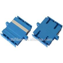 Componente de fibra pasiva de SC / UPC multimodo dúplex Adaptador de fibra óptica