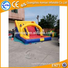 Baladeuse gonflable à bas prix pour toboggan, toboggan gonflable en PVC pour piscine