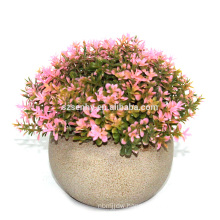 2017 high quality lovely mini make Artificial small potted plants