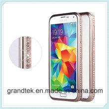 para Samsung S5 aluminio Metal parachoques caso muestras gratis