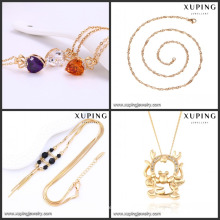 2017 SGS Certified Jewelry Saudi Gold Necklace 18k Jewelry