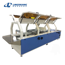 Tank Tops Folding Machine with Filming