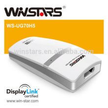 5Gbps Super Speed Usb 3.0 to DVI Adapter with Audio and Video output, USB 3.0 graphic adapter