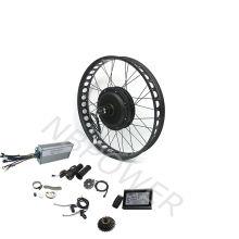 1000w 1500w 2000w  Fat Tire Electric Hub Motor Electric Bike Conversion Kits