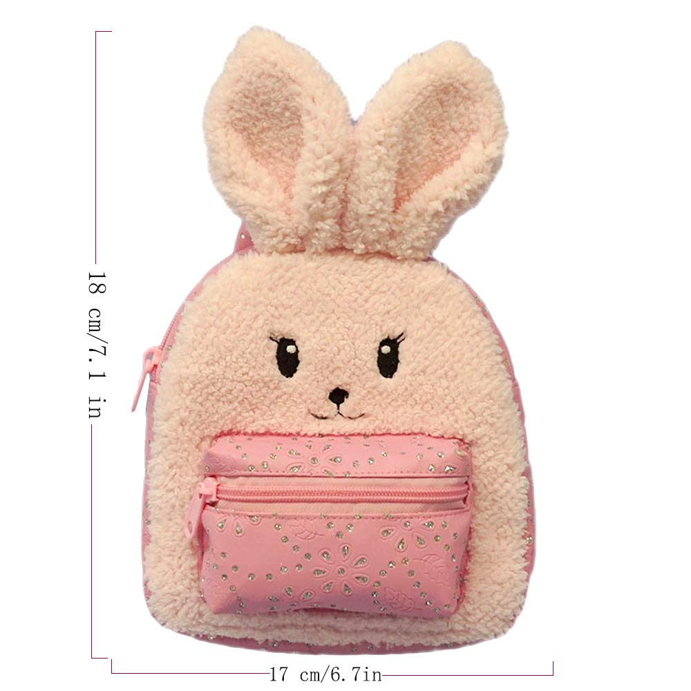 Animal Plush Rabbit Backpack 3