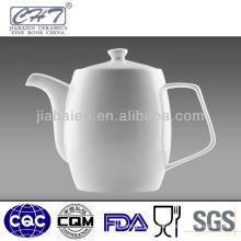 White Airline Porcelain Coffee Pot