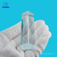 Différents types de prisme en verre optique